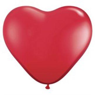 Kæmpe Hjerteballon 90 cm. 1 / 1