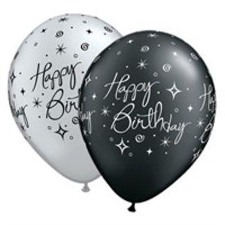 Elegant Birthday Ballons - 25 stk.  1 / 1