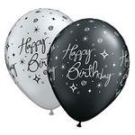 Elegant Birthday Ballons - 25 stk.