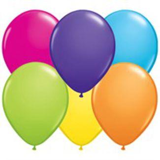 Runde Balloner - Tropical - 25 stk. 1 / 1