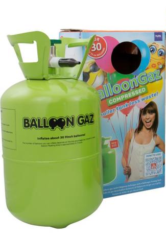 Helium - Ballongas (Mellem Engangsflaske) 1 / 1
